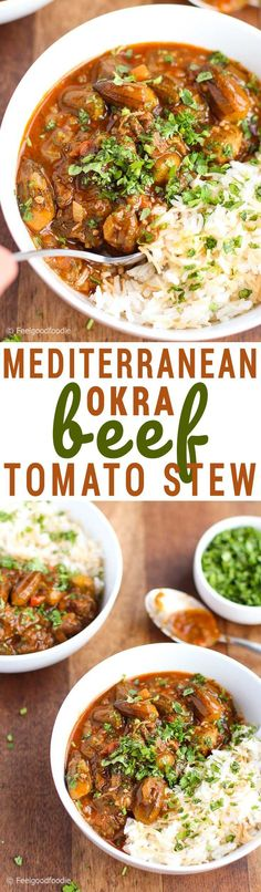 35 best mediterranean recipes images on pinterest cooking food this mediterranean okra beef tomato stew is a hearty arabic recipe with robust flavors of cilantro forumfinder Image collections