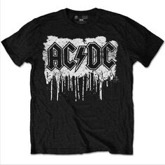 AC/DC Dripping With Excitement Men's T Shirt Official Band Merch Various Sizes