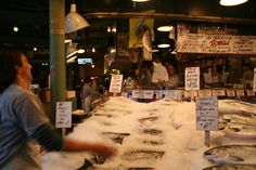 Pike Place Market, Seattle, Washington, USA