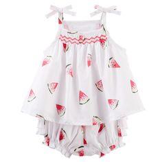 Baby Girl Watermelon Babydoll Set   OshKosh.com