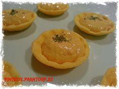 PINTXOS PARA TORPES. Pintxos,tapas,aperitivos,entrantes,pinchos,canapes faciles: Canapé de atún, maiz y alioli