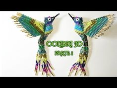 Bird Patterns, Peyote Patterns, Beading Patterns, Beaded Crafts, Beaded Ornaments, Hobbies And Crafts, Diy And Crafts, Beaded Animals, Bead Crochet