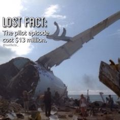 and at the time, it was the most expensive pilot #lost #losttv #lostabc #lostshow #lostseries #losttvshow #losttvseries #lostfact #pilot