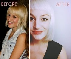 HOW-TO: Natural Blonde to Platinum With a Fresh Shape