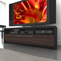 Naples 60 TV Stand modern home electronics 60 Inch Tv Stand, 60 Tv Stand, Modern Home Electronics, Tv Stand Wayfair, Flat Screen Tv Stand, Tv Furniture, Furniture Shopping, Painted Furniture, Furniture Ideas