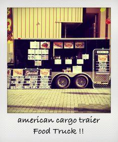 Food Truck / in daimon-ichi Food Truck, Trucks, Mobile Food Cart, Truck, Food Trucks