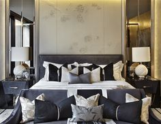 One Hyde Park - Project Candy- bedroom interior Home Bedroom, Bedroom Furniture, Master Bedroom, Bedroom Decor, Home Interior, Luxury Interior, Interior Design, Glamour Decor, Luxurious Bedrooms