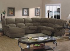 Sectional with chaise and recliner!