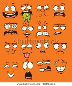 Image result for silly cartoon faces images