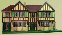 Looks like antique, with great design and detail. .....Rick Maccione-Dollhouse Builder www.dollhousemansions.com