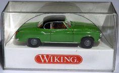 "823 36 27 Wiking Modellauto ""Borgward Isabella Coupé"" WIE NEU in OVP"