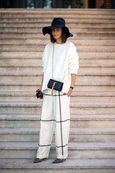 Paris Street Style Spring 2015 - Best Street Style Paris Fashion Week - Harper's BAZAAR #fashion