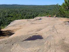 Algonquin park lookout trail
