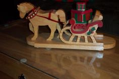 Sleigh 2009 by Wheaties  -  Bruce A Wheatcroft   ( BAW Woodworking)