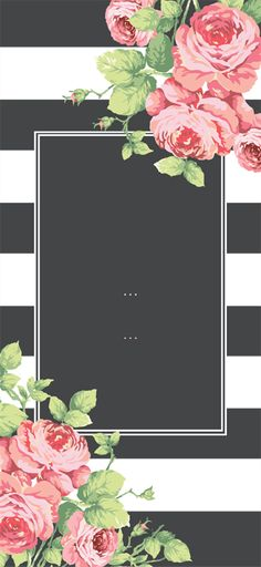 millions turn for business cards, websites and more. Cute Wallpapers, Wallpaper Backgrounds, Iphone Wallpaper, Birthday Card Template, Vintage Diy, Flower Frame, Paper Art, Decoupage, Backdrops