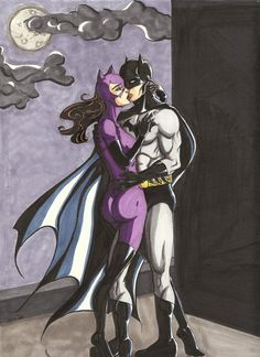 The Bat and the Cat by FearlessOnMyBreath.deviantart.com on @deviantART