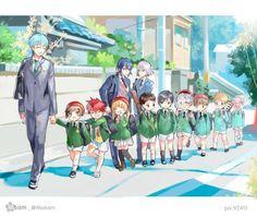 Ichigo Hitofuri and ALL his siblings. Touken Ranbu, Manga Boy, Manga Anime, Anime Art, Nikkari Aoe, Familia Anime, Anime Child, Anime Boys, Fantasy Weapons