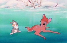 Bambi, le dessin animé qui a traumatisé des millions d'enfants !  Bambi, long-métrage d'animation des studios Disney, est sorti en 1942.