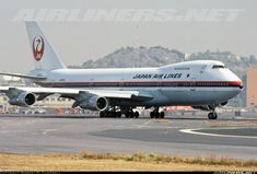 Photo taken at Mexico City (- Licenciado Benito Juarez International) (MEX / MMMX) in Mexico in March, Boeing 747 200, Air Lines, Mexico City, Great Photos, Fighter Jets, Aviation, Aircraft, Japan