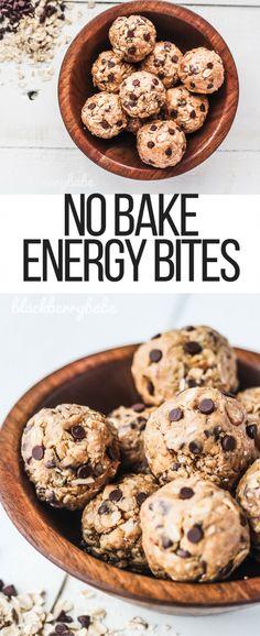 No Bake Energy Balls | No Bake Energy Bites | Chocolate Chip Energy Balls | Chocolate Chip Energy Bites | Energy Bites with Flax Chia | Peanut Butter Chocolate Energy Balls | No Bake Peanut Butter Chocolate | #hbpro @hamiltonbeach @amazon #ad