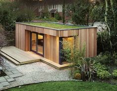 12 Gorgeous Cozy Modern Tiny House Design Small Homes Inspirations — Design & Decorating We already got Modern Tiny House on Small Budget and will make you swon. This Collections of Modern Tiny House Design is designed for Maximum impact. Modern Tiny House, Tiny House Design, Westbury Gardens, Casas Containers, Building A Container Home, Container Architecture, Garden Studio, Garden Buildings, Timber Buildings