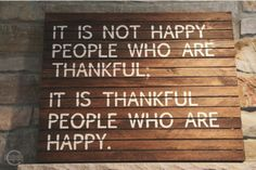Thankful = Smile