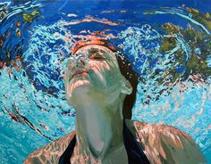 Gemalter Badespaß dank Samantha French | Art Armada