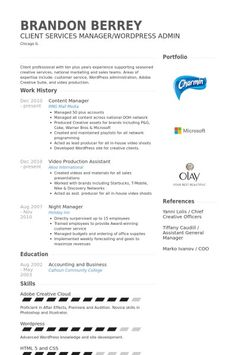 Content Manager Resume Sample - http://topresume.info/content-manager-resume-sample/