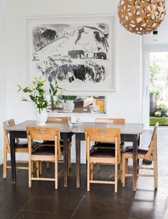 Simple, clean lines were the only option for this stylist's home