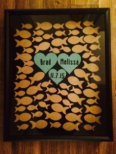 Alternative Wedding Guest Book by Coastail on Etsy