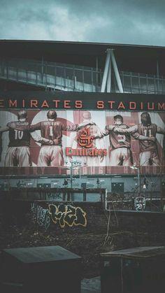 Emirates stadium wallpaper by Gonners_Id - - Free on ZEDGE™ Aubameyang Arsenal, Arsenal Stadium, Arsenal Football, Football Stadiums, Arsenal Badge, Arsenal Jersey, Football Stadium Wallpaper, Football Wallpaper Iphone, Soccer