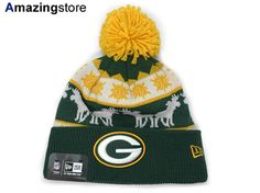MITCHELL NESS GREEN BAY PACKERS Mitchell & Ness Green Bay Packers knit hat Beanie [Hat headgear cap Cap large size mens ladies KNIT Green gold yellow YELLOW]