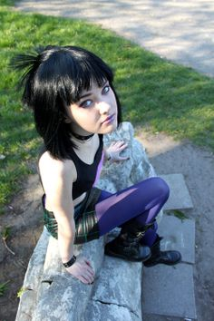 Sam Manson from Danny Phantom. She looks so much like her! I used to watch this cartoon a lot! :3 #dannyphantom #cosplay