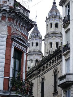 Towers in San Telmo, Buenos Aires