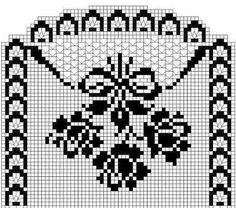 Kira scheme crochet: Scheme crochet no. 955