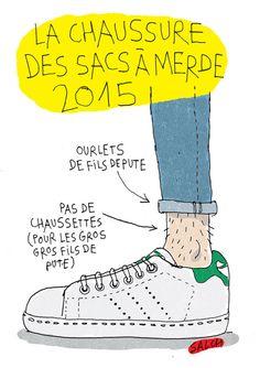 Salch est un dessinateur qui a l'oeil… Cet artiste est l'auteur du compte Tumblr Look Book De Merde qui retrace les différentes