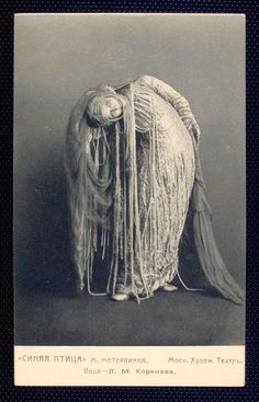 'Water' played by L. M. Koreneva, from Stanislavski's production of Maeterlinck's 'The Bluebird' , Moscow Art Theatre , 1908