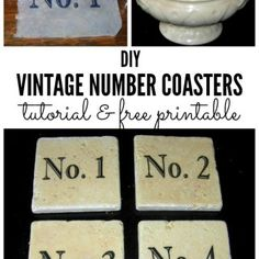 Today I've rounded up 12 Terrific DIY Table Transfers! All of these wonderful crafts and projects were created using Vintage Graphics from my site.