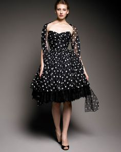 Dolce & Gabbana Lace and Crinoline Dress