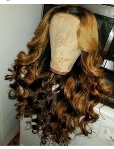 Beautiful long wavy hairstyles wigs for black women lace front wigs human hair wigs african american wigs buy now Long Curly Hair, Curly Hair Styles, Natural Hair Styles, Weave Hairstyles, Pretty Hairstyles, Protective Hairstyles, Hairstyle Ideas, Loose Waves Hair, Remy Hair Extensions