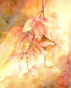 Watercolour by Yvonne Harry