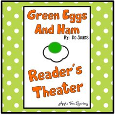 Green Eggs And Ham - Reader's Theater - FREE Printable