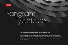 Pangram Sans Free Font