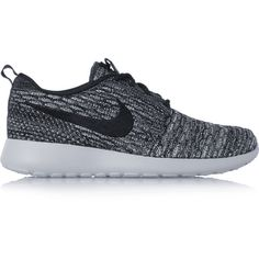 5868cafe4d0e2 Nike Roshe One Flyknit mesh sneakers (590 DKK) ❤ liked on Polyvore  featuring shoes