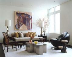 NY Modern Asian modern living room