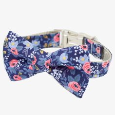 Rosa Navy Collar from Rover The Pet Boutique