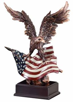live american flag | AMERICAN EAGLE FLAG TROPHY