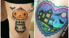 halloween Geek Tattoos, Piercing, Geek Stuff, Cartoon, Halloween, Inspiration, Geek Things, Biblical Inspiration, Piercings