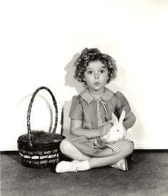 darlingohara: Shirley Temple, Easter 1930s.