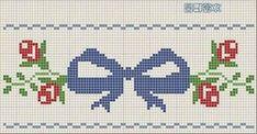 **Blog Amor Perfeito** Gráficos de ponto cruz: Lacinhos